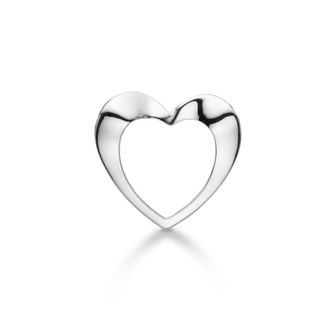 Aagaard - Open Heart, silver lock - Model: 1232,25