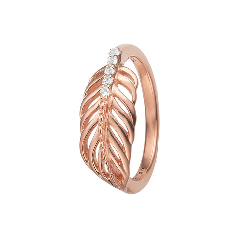 Christina jewelry & watches - Ring, Feather, Rosa forgyldt sølv - Model: 800-2.15.C