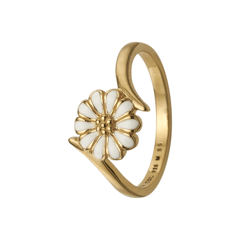 Christina Jewelry - Ring, Marguerite Power, forgyldt sølv ring - Model: 800-2.22.B