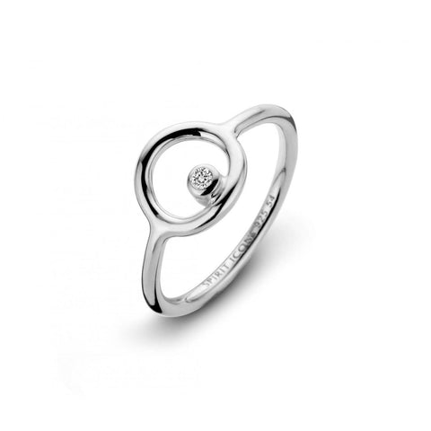 SPIRIT ICONS - INFINITY , RING I SØLV MED ZIRKON - MODEL: 51151