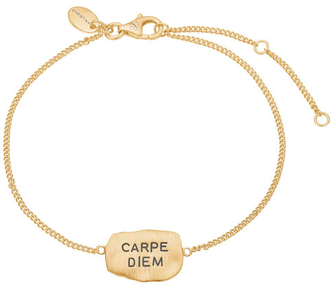 Christina jewelry & watches - Carpe Diem, armbånd, forgyldt sølv - Modelnr: 601-G27