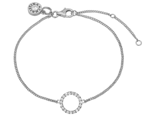 Christina Jewelry & Watches - sparkling circle, bracelet, silver - Modelnr.: 601-S06