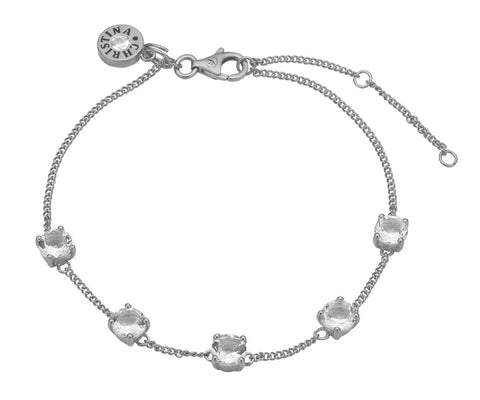 Christina Jewelry & Watches - crystals, bracelet, silver - Modelnr.: 601-S09