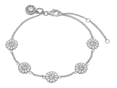 Christina Jewelry & Watches - marguerite field, bracelet, silver - Modelnr.: 601-S02