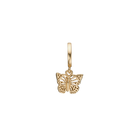 Christina Jewelry & Watches - Charm,  Butterfly in the Sky, gold plated - Modelnr.: 610-G32