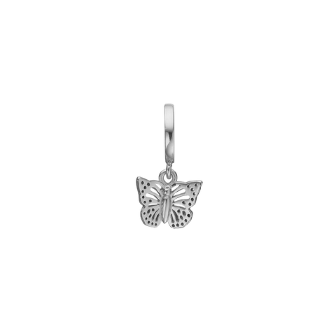 Christina Jewelry & Watches - Charm,  Butterfly in the Sky, sølv - Modelnr.: 610-S32