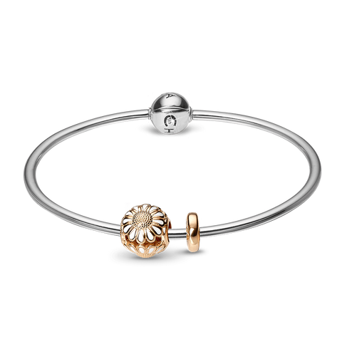 Christina jewelry & watches - Bangle Kampagne forg. vedh. - Small - Modelnr.: 615-SB-G-SMALL