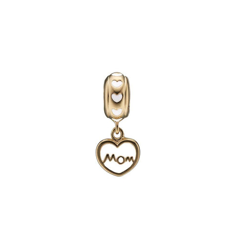 Christina jewelry & watches - MOM Love, gold plated silver - Modelnr.: 623-G125