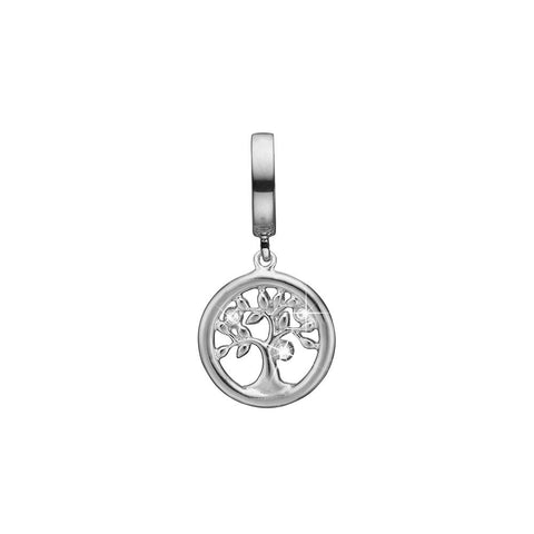 Christina Jewelry & Watches - Topaz Tree of Life, sølv charm - Model: 623-S176