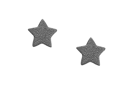 Christina jewelry & watches - Sparkling Stars, studs, black ruth - Modelnr.: 671-B04