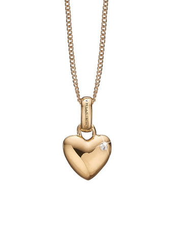 Christina jewelry & watches - Big Love, Pendant, goldpl silver - Modelnr.: 680-G01