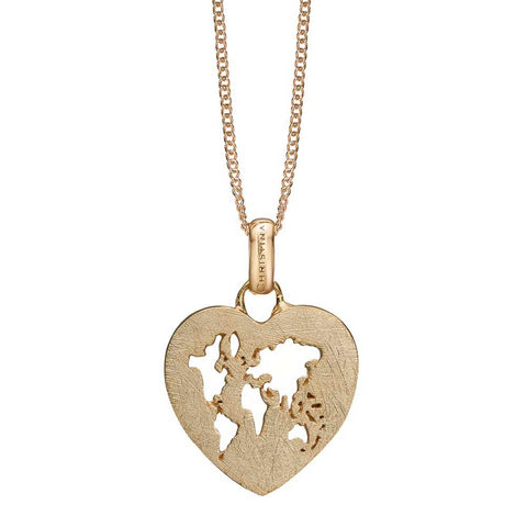 Christina jewelry & watches - World Heart, vedhæng, forgyldt sølv - Modelnr: 680-G84
