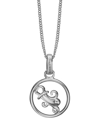 Christina jewelry & watches - Zodiac Aquarius Pendant, silver - Modelnr.: 680-S38-1