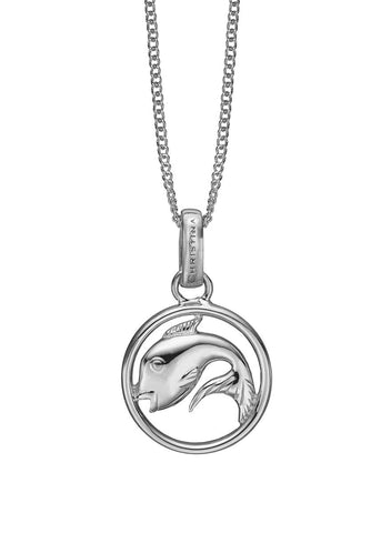 Christina jewelry & watches - Zodiac Pisces Pendant, silver - Modelnr.: 680-S38-2