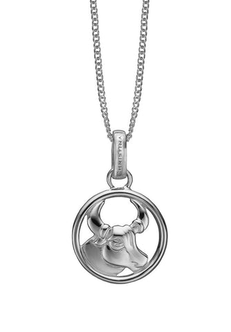 Christina jewelry & watches - Zodiac Taurus Pendant, silver - Modelnr.: 680-S38-4
