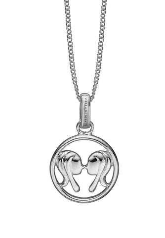 Christina jewelry & watches - Zodiac Gemini Pendant, silver - Modelnr.: 680-S38-5