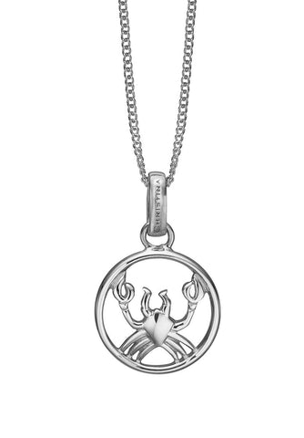 Christina jewelry & watches - Zodiac Cancer Pendant, silver - Modelnr.: 680-S38-6