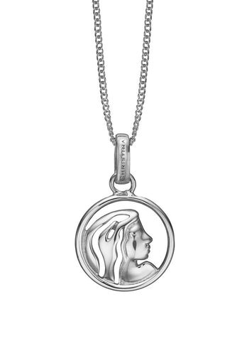 Christina jewelry & watches - Zodiac Virgo Pendant, silver - Modelnr.: 680-S38-8
