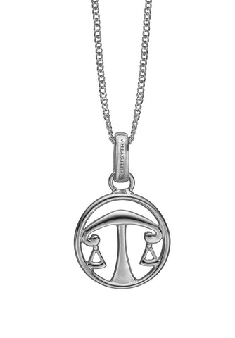 Christina jewelry & watches - Zodiac Libra Pendant, silver - Modelnr.: 680-S38-9