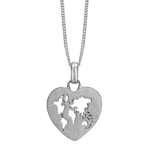 Christina jewelry & watches - World Heart, vedhæng, sølv - Modelnr: 680-S84
