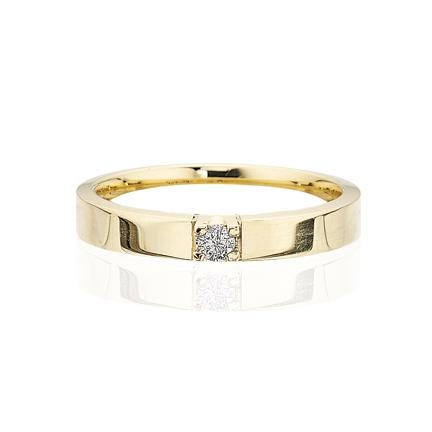 Scrouples - Grace diamant ring 14 kt. guld 1x0,04 w/si diamant - Modelnr.: 7755,1