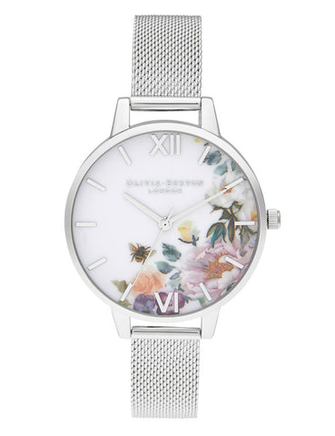 OLIVIA BURTON - ENCHANTED GARDEN DEMI SILV - MODEL: OB16EG136