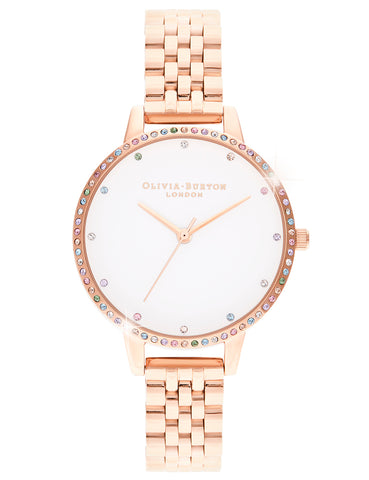 OLIVIA BURTON - RAINBOW BEZEL - MODEL: OB16RB21