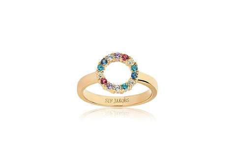 SIF JACOBS - BIELLA PICCOLO RING - MODEL: SJ-R337-XCZ(YG)