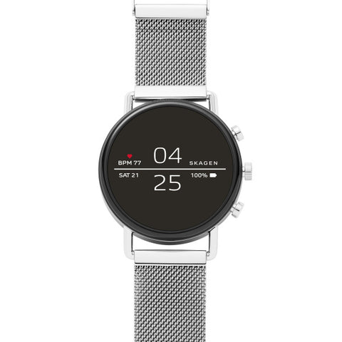 Skagen - Falster 2 - Smart watch, stainless steel, Mesh - Model: SKT5102