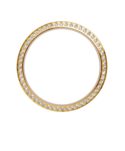 Christina jewelry & watches - Collect Topring forgyldt, 54 hvide safirer 1,3mm - Modelnr.: tcg32-whi