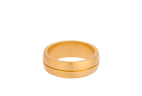 Pernille Corydon - EDGE - Forgyldt ring - Model: R-820-GP