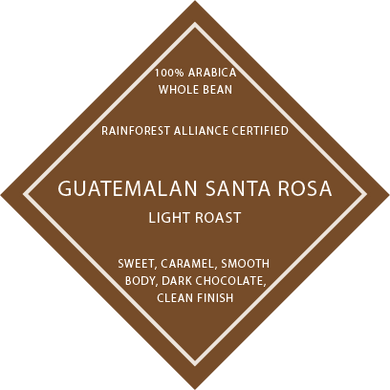 Guatemalan Santa Rosa RFA - Light Roast