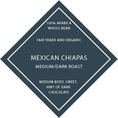 Mexican Chiapas FTO - Medium/Dark Roast