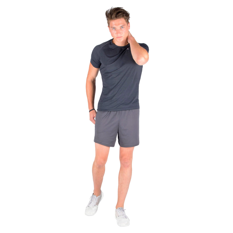 Lightweight breathable workout athletic tshirt