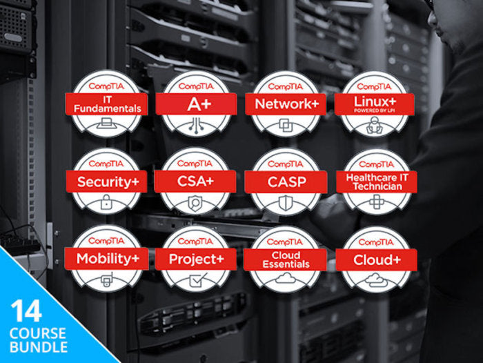 Save Hundreds On The The Complete 2018 CompTIA Certification Training Bundle from pcworld.com