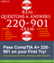 Comptia 220-901 A+ real exam questions and answers 2018