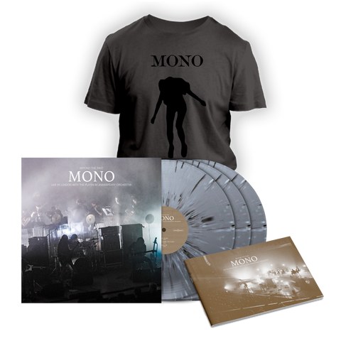 Beyond the Past color LP / T-shirt Beyond Dark Grey set