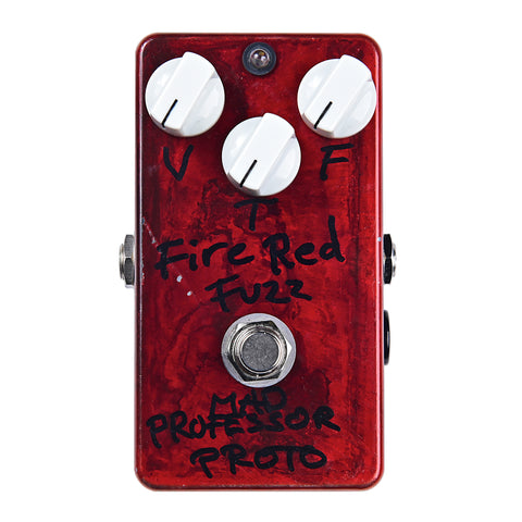 "Fire Red Fuzz ""PROTO"" 【USED】"