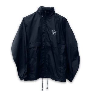 Jacket (Black Windbreaker)