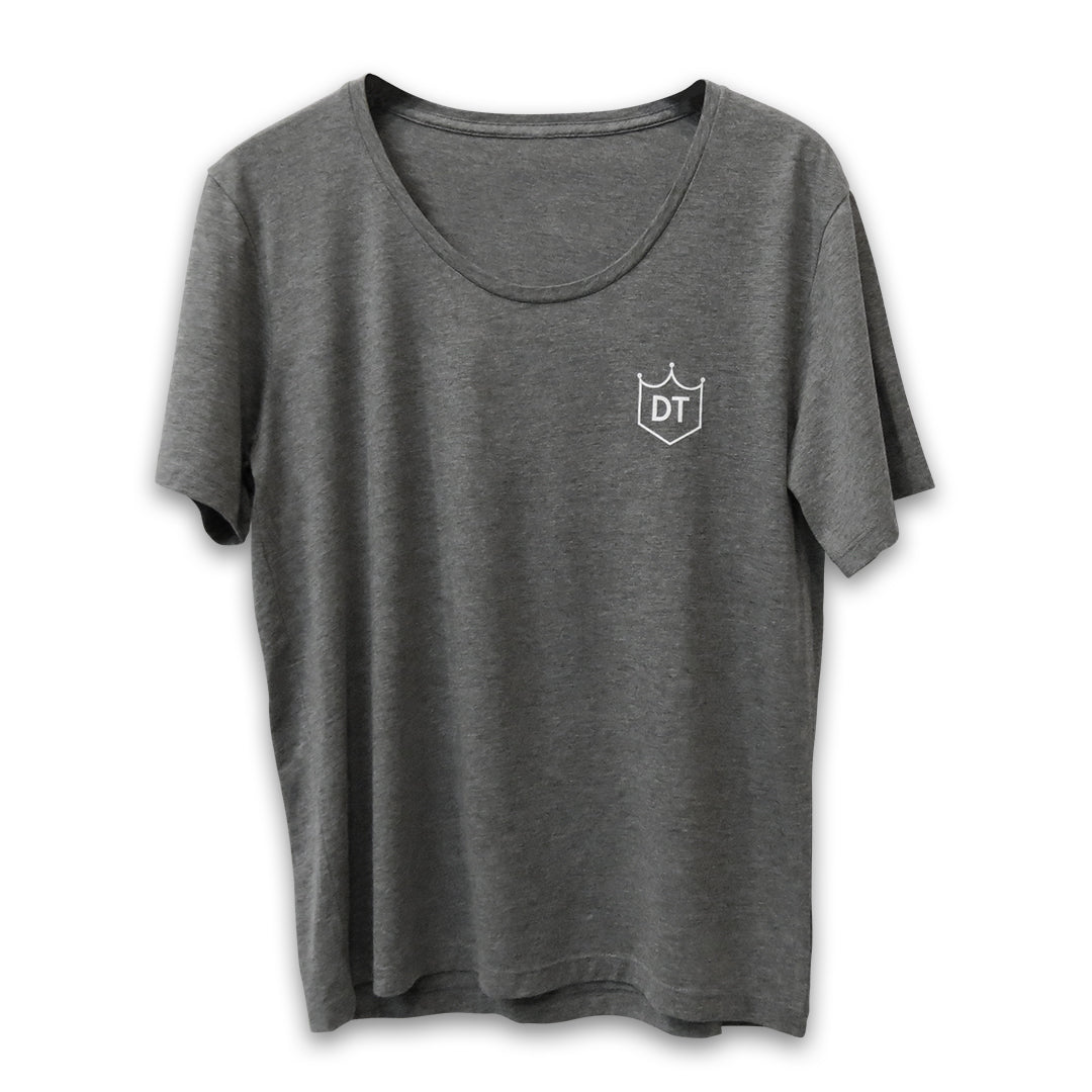 Canvas Logo Tee (Grey)