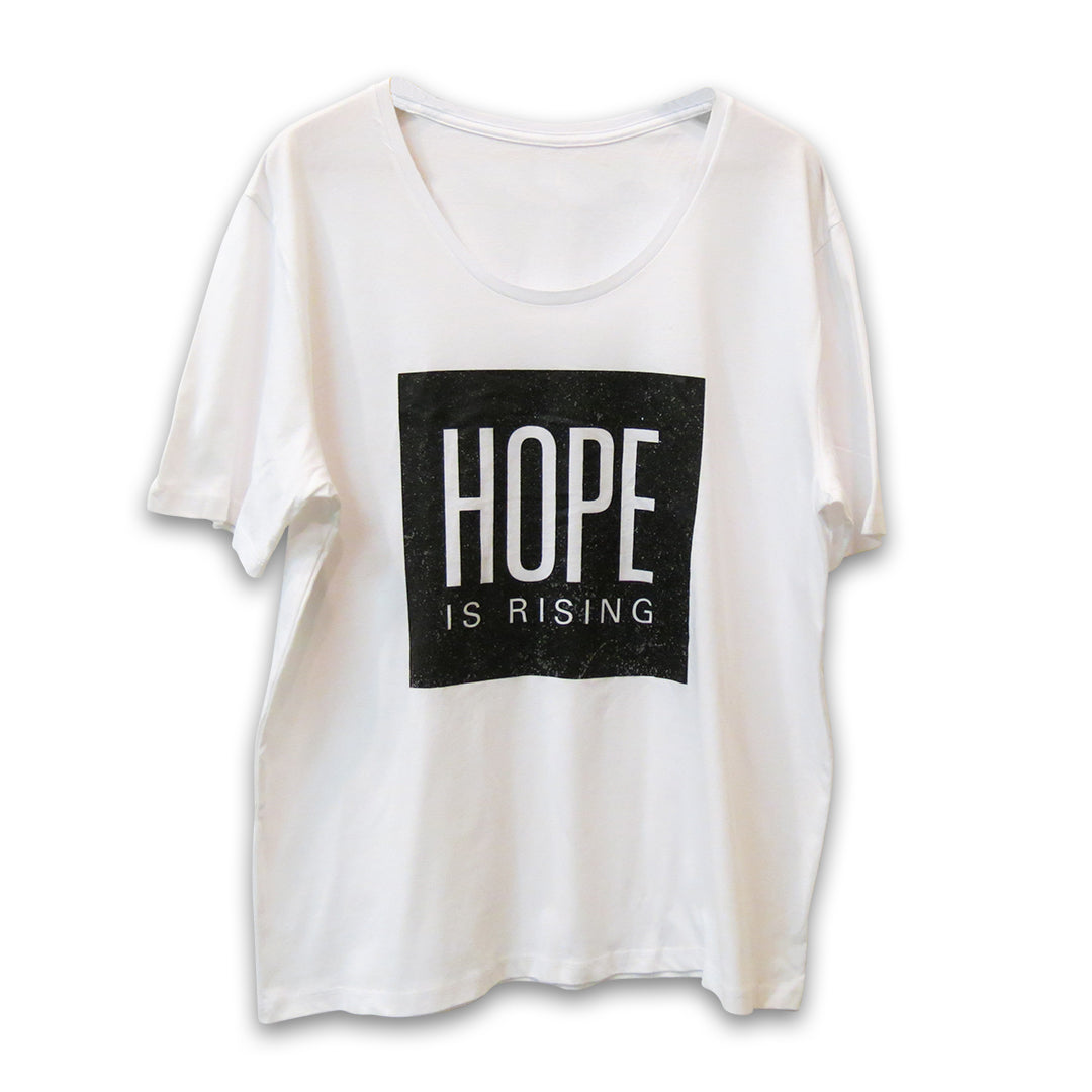 Canvas Hope Tee (White)