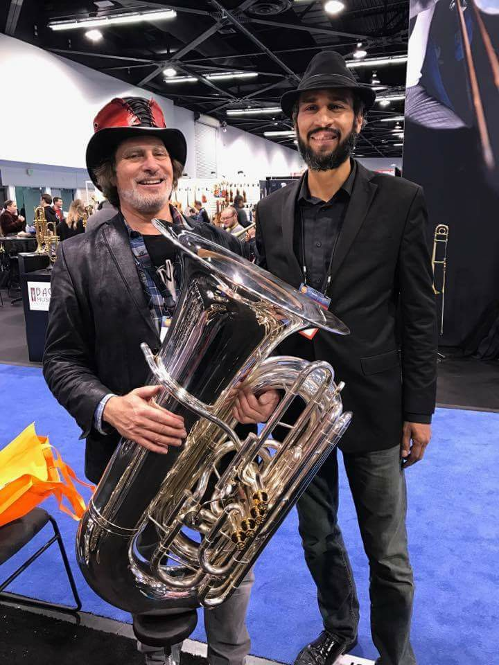 Jesse Tucker at NAMM