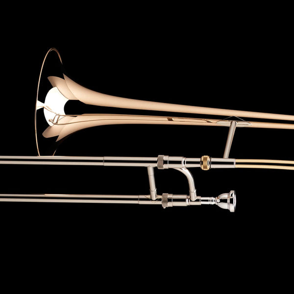 A close up image of a Bb Tenor Trombone (0.525″) from Wessex Tubas