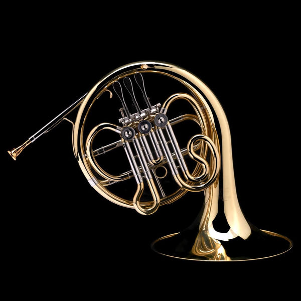 An image of a Bb French Horn (student) from Wessex Tubas (facing right)