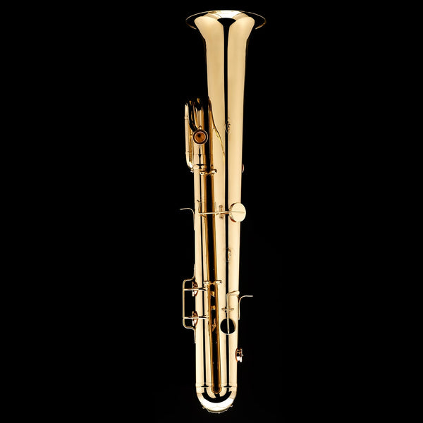 An alternative image of a Bb Ophicleide from Wessex Tubas