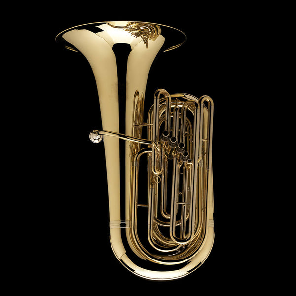 An alternative image of a BBb 3/4 Tuba 'Oregon' from Wessex Tubas