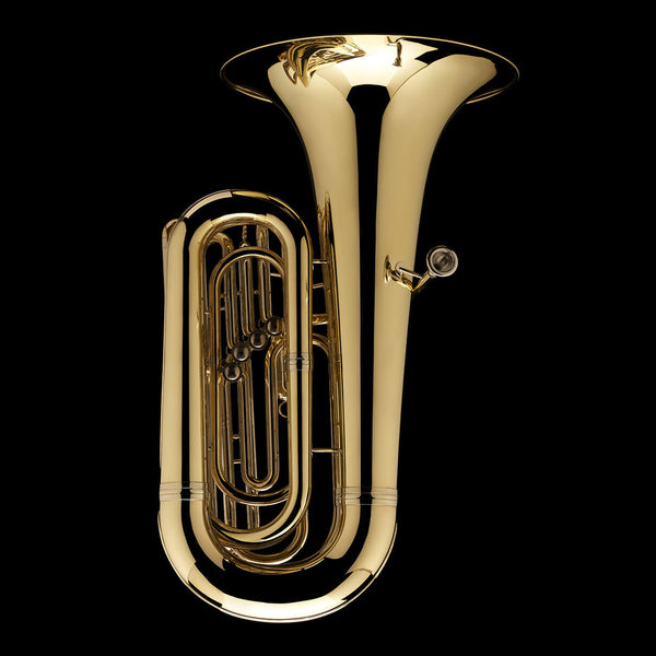 An image of the back of a BBb 3/4 Tuba 'Oregon'  from Wessex Tubas