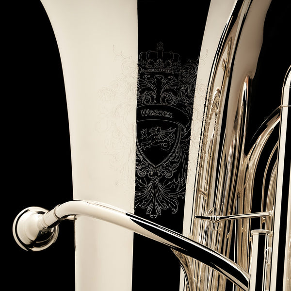 BBb 4/4 Tuba with 5-valves 'Viverna' - TB480H