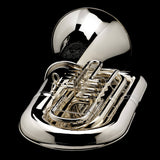 An image of a BBb 6/4 Rotary tuba 'Kaiser' from Wessex Tubas, laying flat