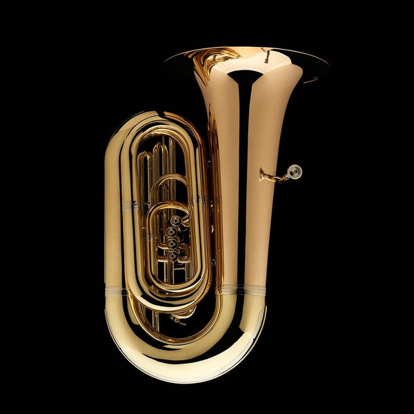 "An image of the side of a BBb 6/4 Front-Piston Tuba ""Grand"" from Wessex Tubas"
